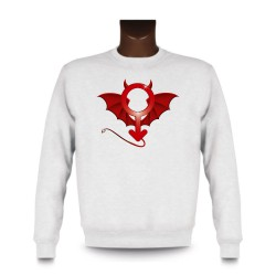 Men's Sweatshirt - Devil Man