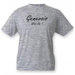 Funny T-Shirt - Genevois, What else ?, Ash Heater