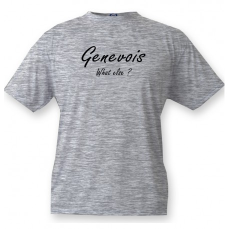 Funny T-Shirt - Genevois, What else ?, Ash Heater