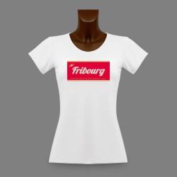 T-Shirt dame - Fribourg, Excellence Suisse depuis 1481