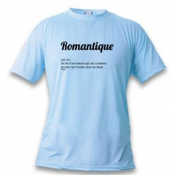 Funny T-Shirt - Romantique, Blizzard Blue