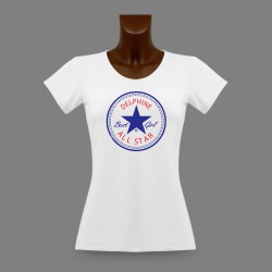 T-Shirt mode dame - ALL STAR Best Girl - personnalisable