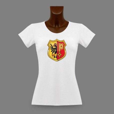 Frauen Mode T-shirt - Genfer Wappen