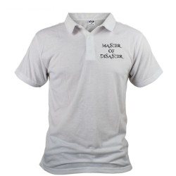 Polo shirt homme humoristique - Master of Disaster