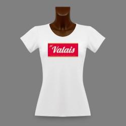 Donna T-shirt stretto - Valais, Excellence Suisse depuis 1815