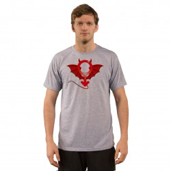T-shirt humoristique mode homme - Diaboliquement Mâle, Ash Heater