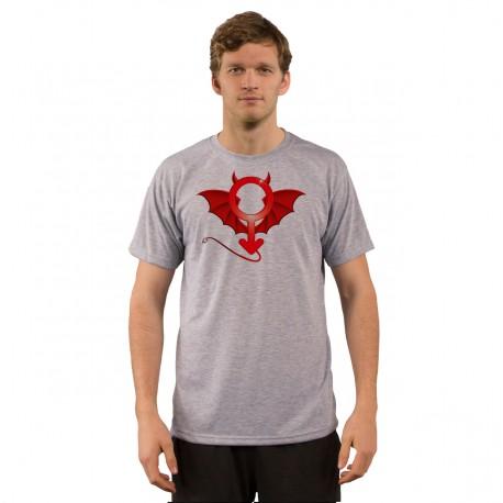 Men's Funny fashion T-Shirt - Devil Man, Ash Heater