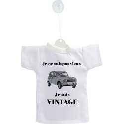 Decorazione auto Mini T-Shirt - Vintage Renault 4L