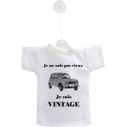 Déco voiture Mini T-shirt - Vintage Renault 4L