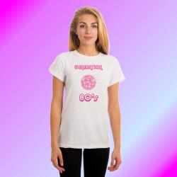 T-Shirt mode dame humoristique - Génération quatre-vingt