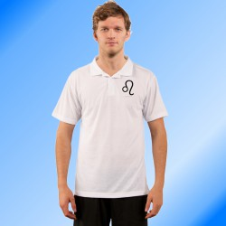 Herrenmode Polo shirt - Sternbild Löwe