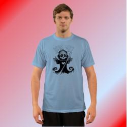 Herren Humoristisch T-Shirt - Hug me, Blizzard Blue