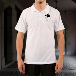 Men's fashion Polo Shirt - Fribourg 3D borders
