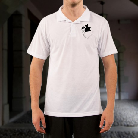 Polo shirt mode homme - Frontières Fribourgeoises 3D