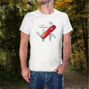 Schweizer Armee Sackmesser ✚ Herren T-Shirt