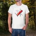 Couteau militaire suisse ✚ T-Shirt homme