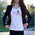 T-Shirt dame - Fashion Victim Black Shoe