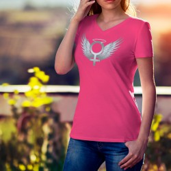 Women's cotton T-Shirt - Venus Angel