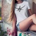 Donna T-shirt - Chiave di Violino Tribale