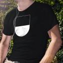 T-Shirt coton - Blason fribourgeois