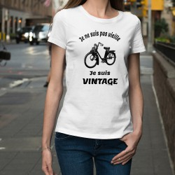 Women's fashion funny T-Shirt - Vintage Solex