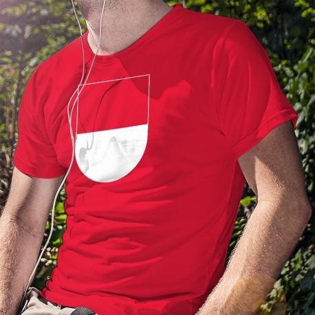 T-shirt coton mode homme - Blason soleurois