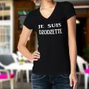 Women's cotton T-Shirt - Je suis DZODZETTE