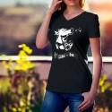 Baumwolle T-Shirt - Liauba