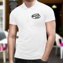 Men's Funny Polo shirt - Bündner inside