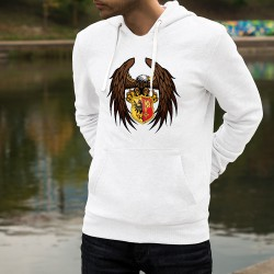 Hooded Funny Sweat - Eagle and Geneva Shield