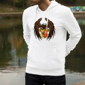 Hoodie - Eagle and Geneva coat of arms