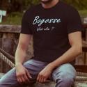 Men's cotton T-Shirt - Bogosse, What else ?