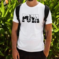 T-shirt mode homme - Pont de la Poya, White