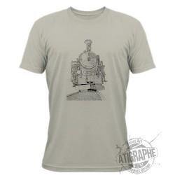 T-Shirt - locomotiva a vapore