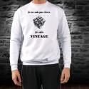 Men's Funny Sweatshirt - Vintage Rubik's cube