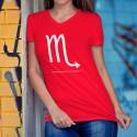 T-Shirt coton - signe astrologique Scorpion