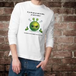 Men's Sweatshirt - Si je dis que je vais le faire