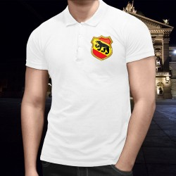 Men's Polo Shirt - Bern coat of arms