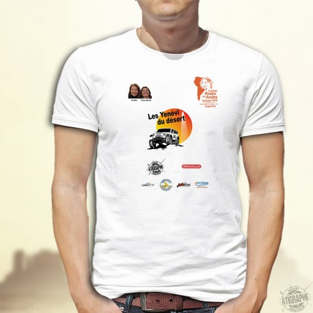 Herren T-Shirt - Yenévi du désert