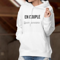 Kapuzen-Sweatshirt - EN COUPLE