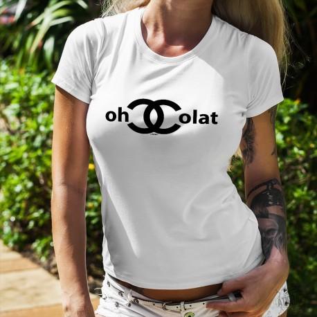 T-Shirt humoristique mode femme - ChoColat