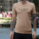 Je ne mange pas de graines ★ T-Shirt homme