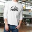 Aereo da caccia ★ Douglas AD-4N Skyraider ★Uomo pullover