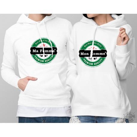 Kapuzenpulli DUOPACK - Amour Heineken