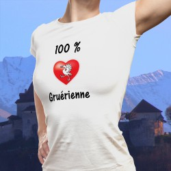 T-Shirt mode - 100 pourcent Gruérienne