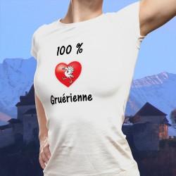 T-Shirt mode - 100 pourcent Gruérienne
