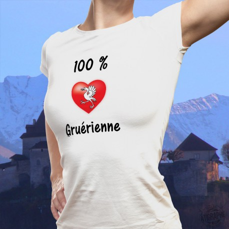 Mode T-shirt - 100 pourcent Gruérienne