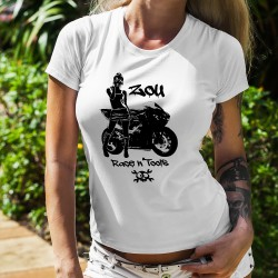 T-shirt mode dame - Zou Race n'tools logo