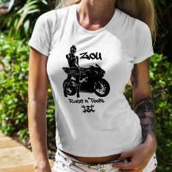 Women's T-Shirt - Zou Race n'tools logo