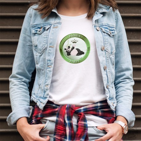 T-Shirt humoristique mode femme - Panda First